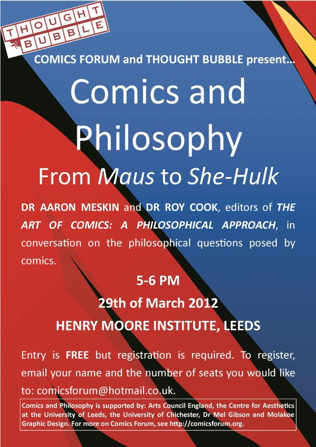 Comics & Philosophy (2012) - Poster [FINAL]