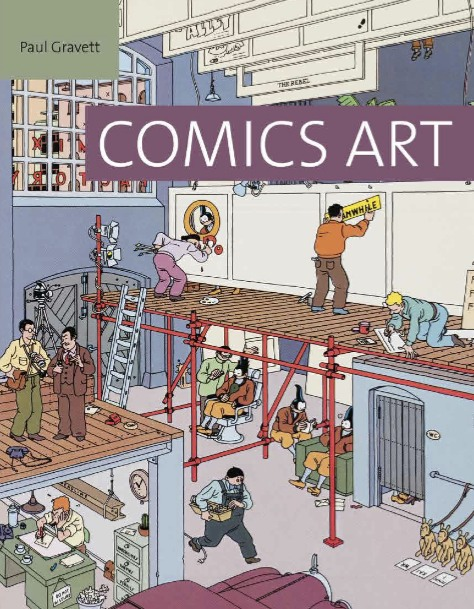 Comics Art Cover
