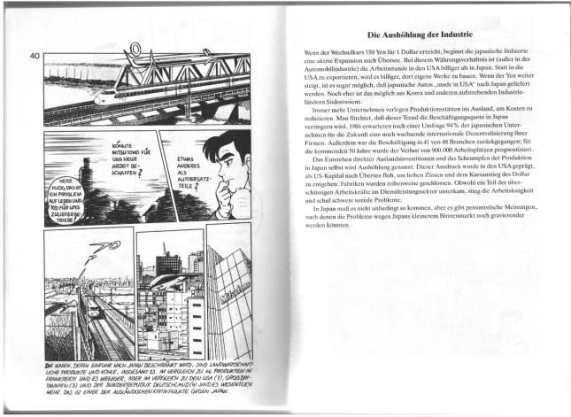 Shōtarō Ishinomori: pp. 40-41 from Japan GmbH. © 1989 Verlag Norman Rentrop.