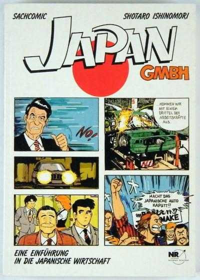 Shōtarō Ishinomori: Japan GmbH, front cover. © 1989 Verlag Norman Rentrop.