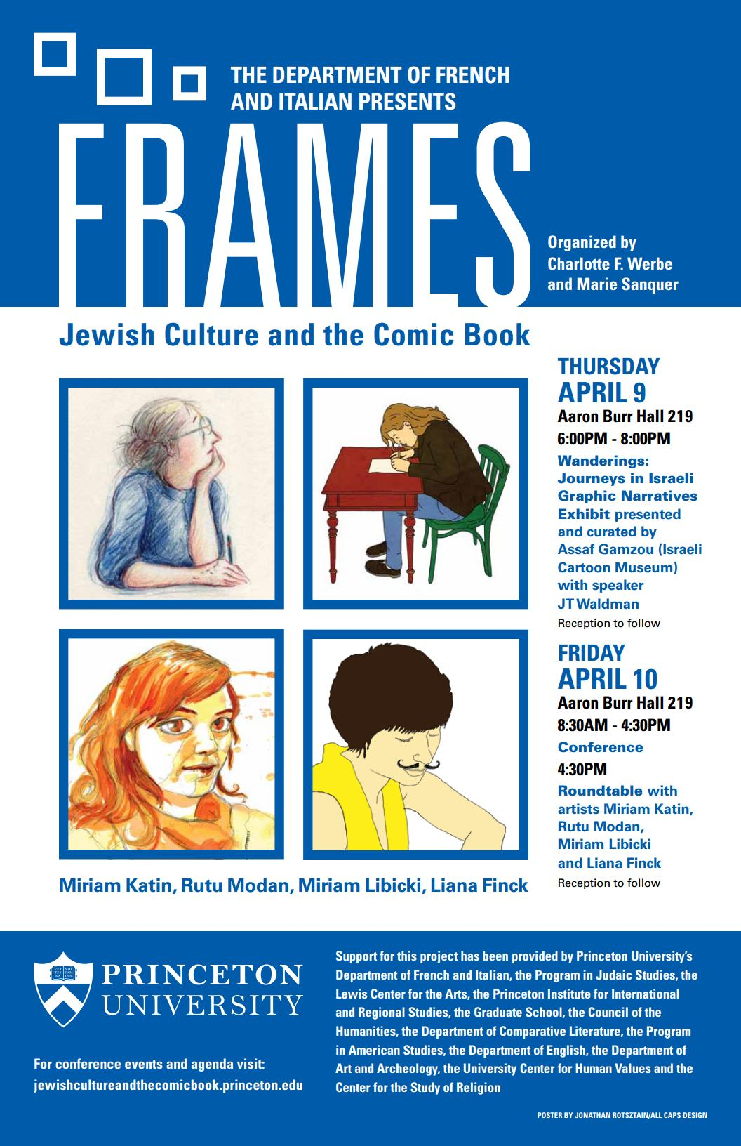 Frames: Jewish Culture and the Comic Book | Comics Forum