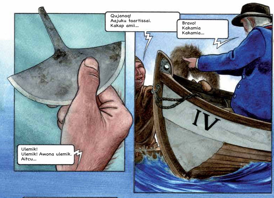 telling the prehistory of greenland in graphic novels by lisbeth