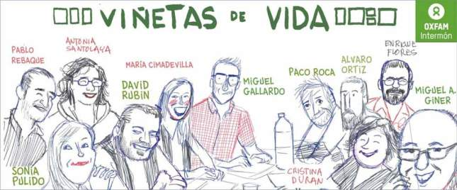 Image 1: The authors of Viñetas de Vida. Used with kind permission of Oxfam.