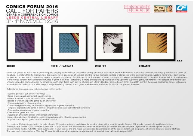 Comics Forum 2016